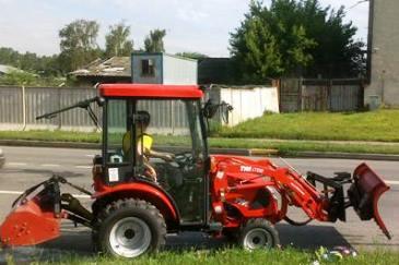Коммунальная техника трактор