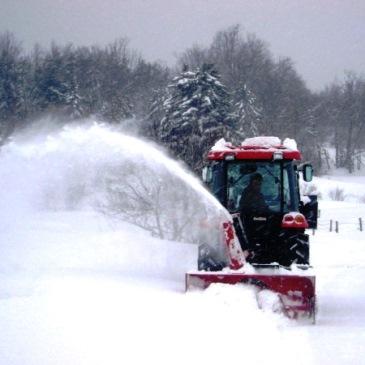 Снегоротор на трактор для роторной уборки снега