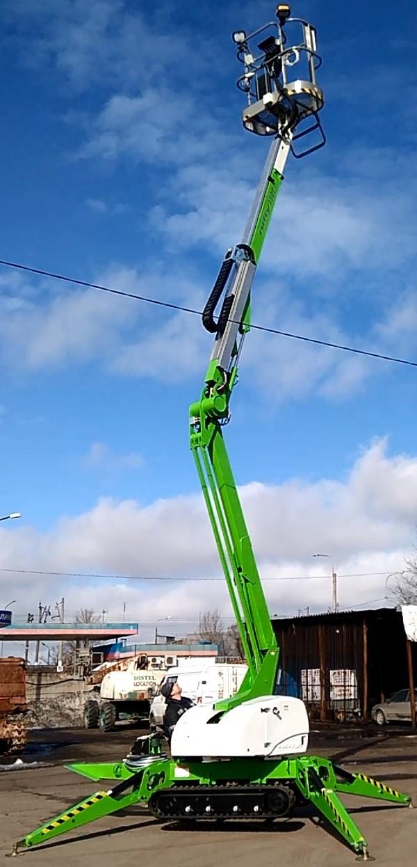 Гусеничный коленчатый подъёмник Нифти Лифт Nifty TD120