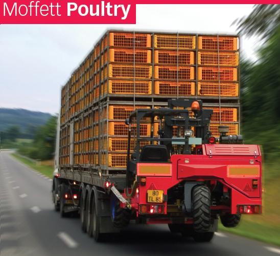 moffett прицепленные на грузовик