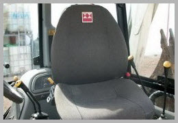 кабина экскаватора погрузчика terex 820