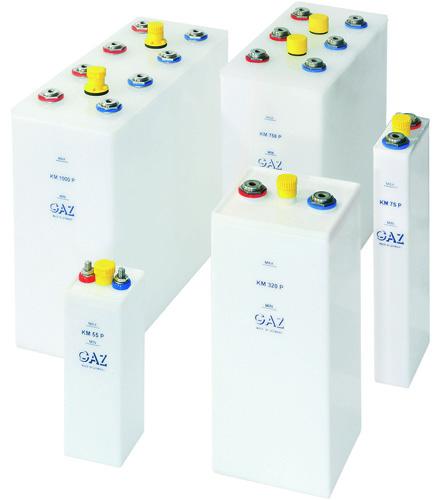никель-кадмиевые аккумуляторы KM P