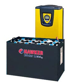 тяговый аккумулятор Hawker Water Less