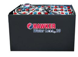 тяговый аккумулятор hawker water less 20